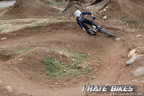 A berm at the Fix