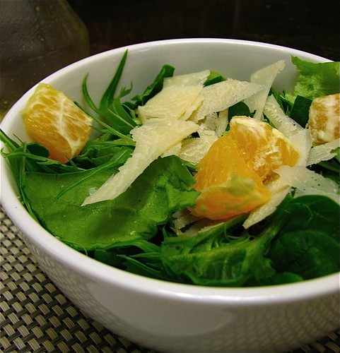 Fresh Greens and Orange Salad