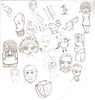 رسومات رسم رصاص 2 (alferas9kuw) Tags: flower girl pen pencil sketch faces drawing cartoon hen ورق رسومات حبر رسم animy قلم الرصاص شخصيات وجوه انمي بالقلم alferas9kuw كاركترات