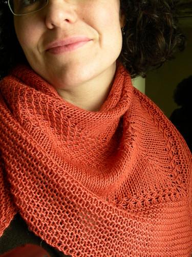textured shawl II