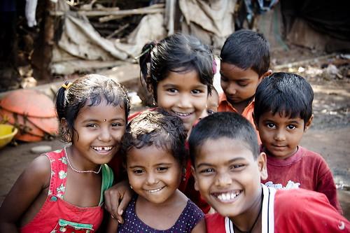 ילדים הודים שמחים