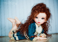 Do you think I can go one day without making this pose??? ({amanda too}) Tags: doll mohair bjd fairyland abjd ante miette amandakeeysphotography littlefee