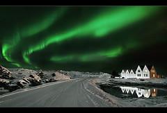 Straumur Aurora (orvaratli) Tags: travel sky snow cold reflection green landscape iceland aurora northernlights auroraborealis borealis icelandic straumur solarstorm magneticstorm arcitc hafnarfjöður arcticphoto örvaratli orvaratli