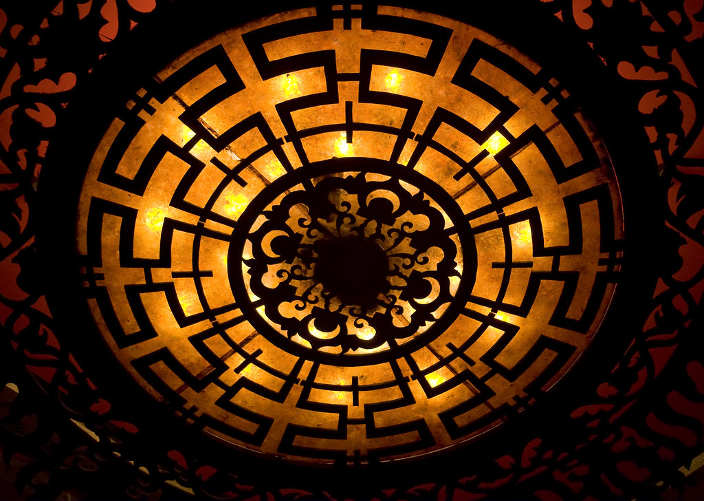The Great Movie Ride Ceiling Light