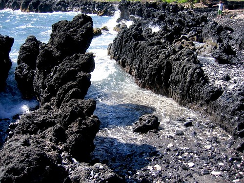 Where the Lava Meets the Sea