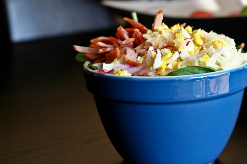 Chopped Salad with Miso Dressing