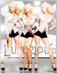 94.Gwen Stefani - Luxurious (Brayan E. Old Flickr) Tags: photoshop gwen esteban stefani blend luxurious brayan