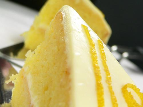Mandarinentorte mit Lemon Curd