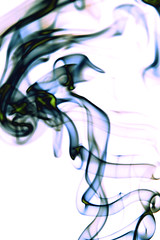 What do you see? (Aline Spezia) Tags: abstract colors studio smoke shapes estudio formas abstrato invert incenso artsmoke canon40d alinespezia sundaytask