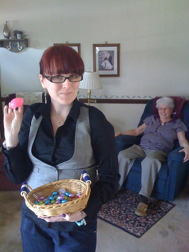 and the granddaddy of all easter eggs. The one with money......102/365