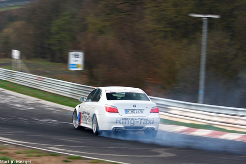 "BMW M5 ""Ring-Taxi"""