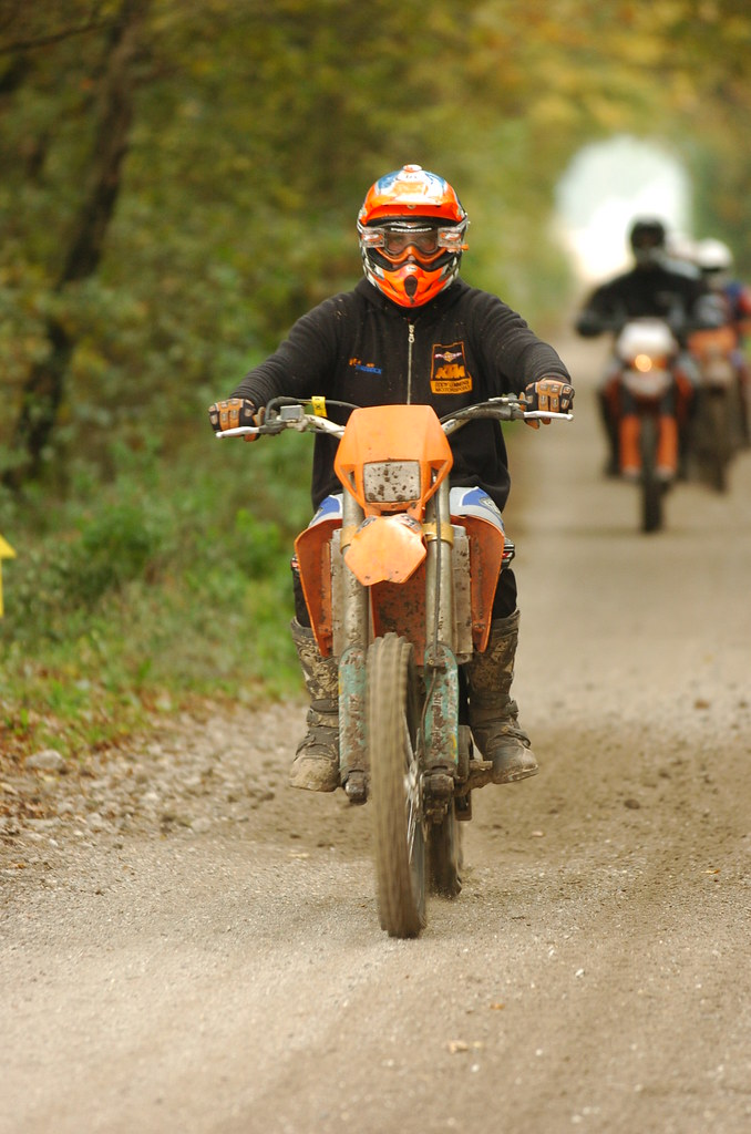 gratis oranje - Offroad rit Handel op 28-10-2007
