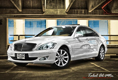 Mercedes s500 (Talal Al-Mtn) Tags: sclass benz s500 mercedess500 mercedes s class talal almtn talalalmtn q8 kuwait car canon450d flash canon camera flickraward flickr award