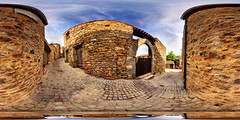 Minerve, Tourist Treat (Garret Veley) Tags: panorama france pano sphere canon5d stitched 360x180 ptgui equirectangular canon15mm nodalninja3 garretveley