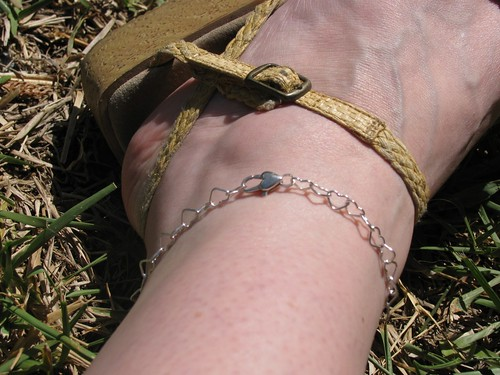 Silver Heart Anklet on Flickr - Photo Sharing! from flickr.com