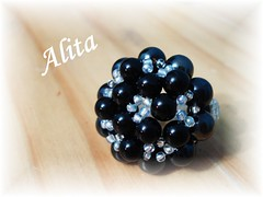 Anillo Redondo (Alita Papier & Beads) Tags: anillos