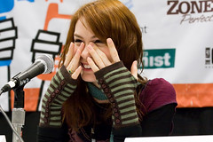 From No Budget to Low Budget panel (Heather Leah Kennedy) Tags: film festival austin texas panel sxsw 2009 southbysouthwest theguild kevinsullivan feliciaday jasonnunes meghanscibona fromnobudgettolowbudget michaelnigro