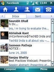 Facebook- Inbox