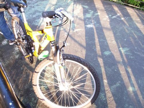 我騎的捷安特單車