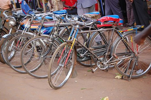 bikes in jinja
