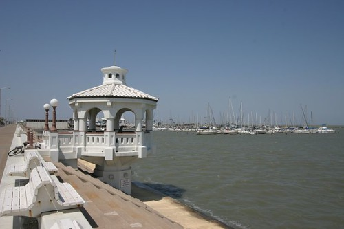 Corpus Christi esplanade.