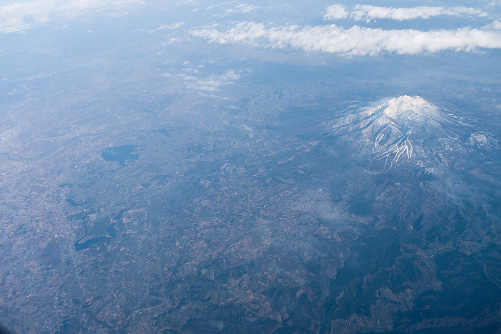 Tsugaru plain and Mt. Iwaki