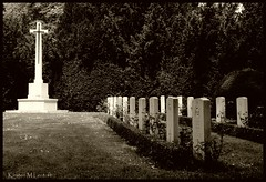 To them we owe our freedom (I) (Kirsten M Lentoft) Tags: graveyard sepia copenhagen denmark memorial cross ww2 soldiers tombstones bispebjerg allied mywinners theunforgettablepictures betterthangood kirstenmlentoft
