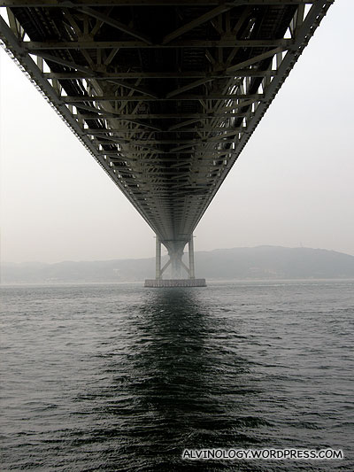 This is just a small portion of the bridge - thats how long it is