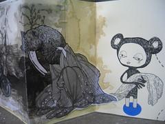 Moly x detail 5 (Quinn 68) Tags: pencil ink drawing quinn moleskin molyexchange