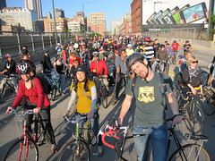 Chicago Critical Mass, May 2009