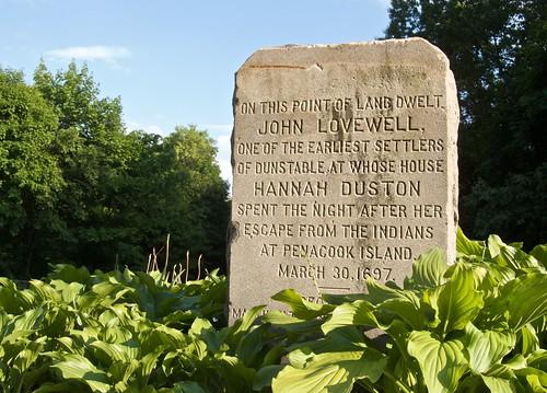 John Lovewell / Hannah Duston Monument