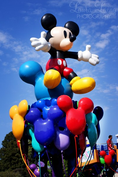 Celebrate: A Street Party Mickey Balloon