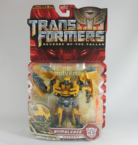 Transformers Bumblebee RoTF Deluxe - caja