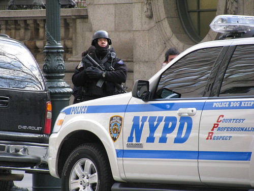 NYPD on the scene