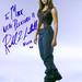 Rachel Luttrell Autograph