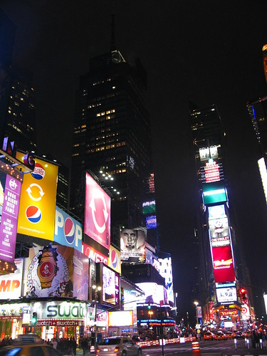 Time Square by night 3