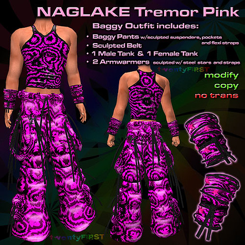 NAGLAKE Tremor Pink