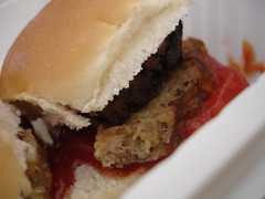 Three Meat Meatloaf Sliders with Roasted Yellow Pepper with Chipotle Ketchup (patrickevanshylton) Tags: richmond lamb judge streetfood acacia streetfair grapevine broadstreet baklava streetfestival countryham broadst vidaliaonion foodcompetition lambburger chilledsoup thejeffersonhotel thejefferson richmondmagazine summersoup broadappetit gibsonsgrill jsargeantreynolds sugartoad sugartoads