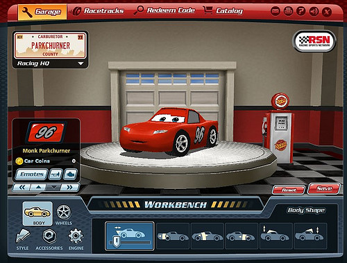 cars game online