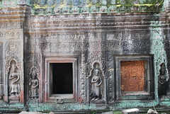 DSC_0642 (ASR Photos) Tags: tree tower abandoned stone temple mural ruins cambodia khmer buddhist roots buddhism jungle siem reap damage khan angkor wat buddah rubble preah overrun
