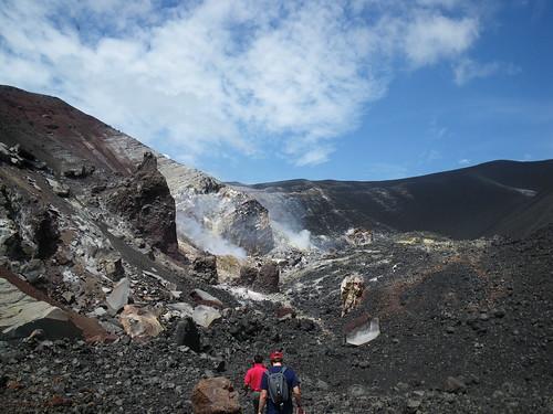 Crater of Cerro Negro in Nicaragua