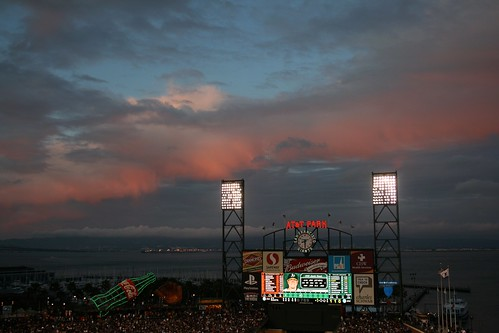 Ballpark Sunset