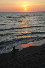 ALM_1541 (allanlmitchell) Tags: sunset beach skimboard