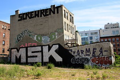msk blockbuster (Luna Park) Tags: nyc ny newyork brooklyn screw graffiti kent roller williamsburg lunapark msk rent grunts armer nekst gen2 907 oze108 ceaze screwrent