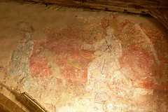 Fresco - All Saints Burton Dassett, Doom, Last Judgment