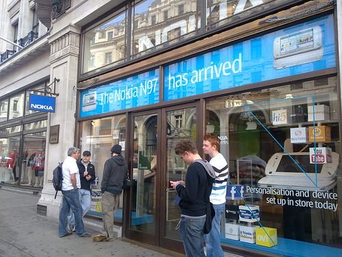 Nokia Store, London