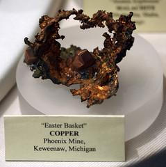 Easter Basket Copper