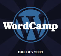 Wordcamp Dallas 2009