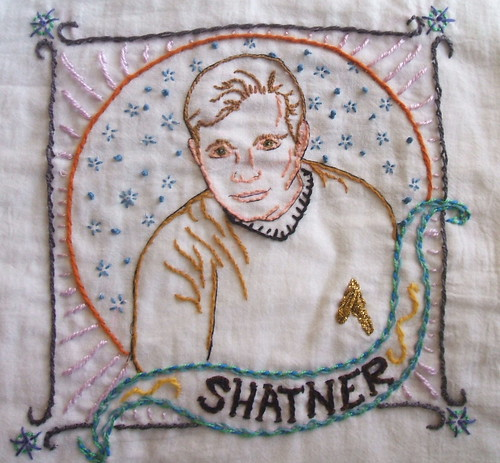 embroidered shatner
