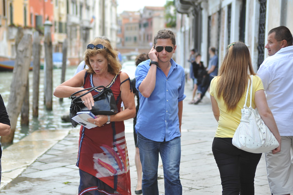 Participant, Ulrike and Eamon Compliant at Venice Biennale. Photo by Anne Brassier